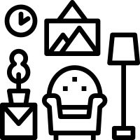 Drexel apartment living room icon