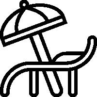 UPenn apartment patio icon